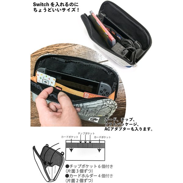 CHUMS チャムス Game Carrying Case|2m50cm|03