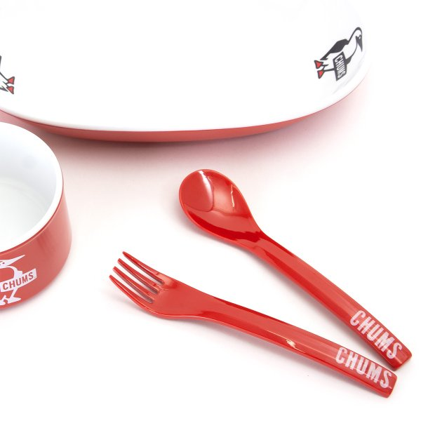 食器 CHUMS チャムス Boat Logo Cutlery Set ボート ロゴ カトラリー セット|2m50cm|03