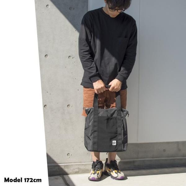 CHUMS チャムス トートバッグ Easy-Go Zipper Tote イージーゴー ジッパートート 2m50cm 05