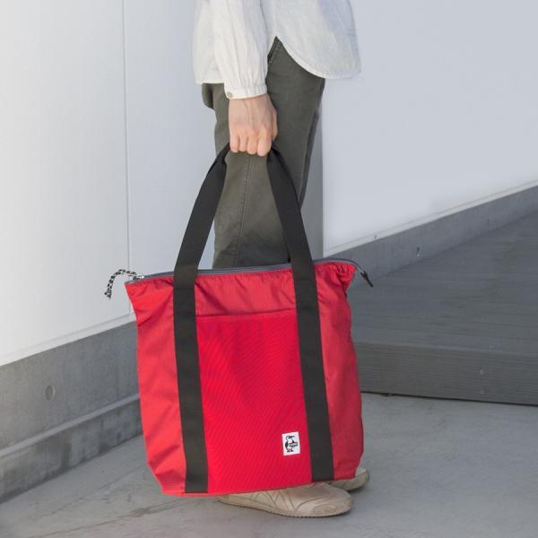 CHUMS チャムス トートバッグ Easy-Go Zipper Tote イージーゴー ジッパートート 2m50cm 09