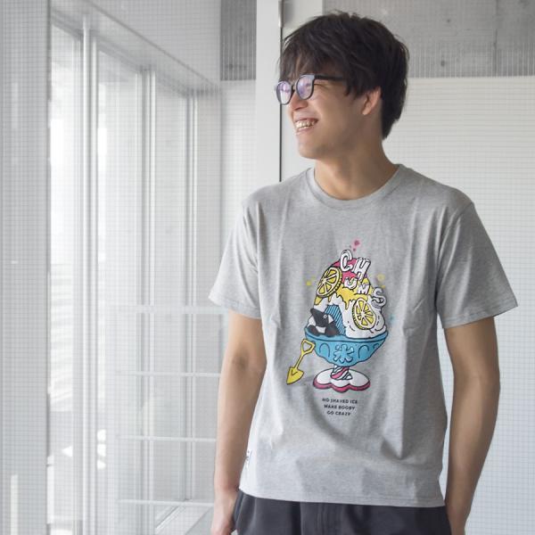 Tシャツ CHUMS Shaved Ice T-Shirt チャムス シェイブドアイス|2m50cm|02
