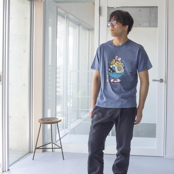 Tシャツ CHUMS Shaved Ice T-Shirt チャムス シェイブドアイス|2m50cm|05