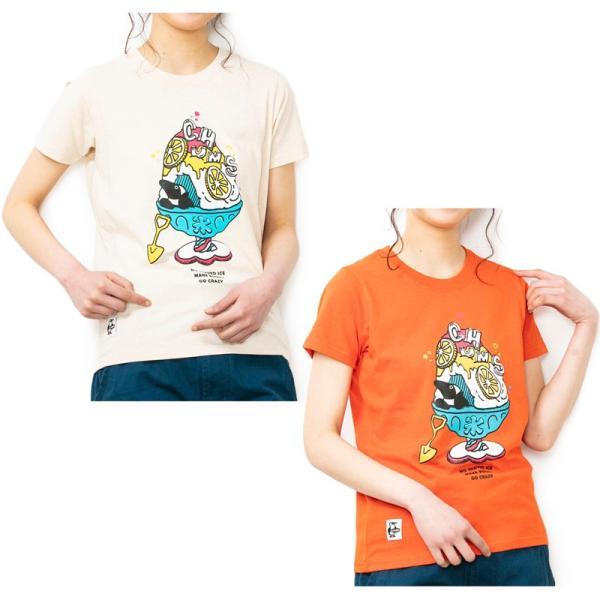 Tシャツ CHUMS Shaved Ice T-Shirt チャムス シェイブドアイス|2m50cm|09