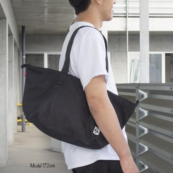 チャムス CHUMS Escalante Zipper Tote Bag エスカランテ ジッパー トートバッグ|2m50cm|02