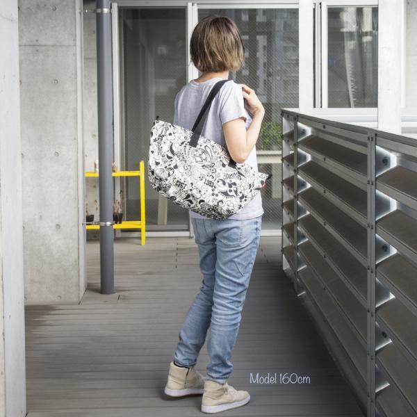 チャムス CHUMS Escalante Zipper Tote Bag エスカランテ ジッパー トートバッグ|2m50cm|04