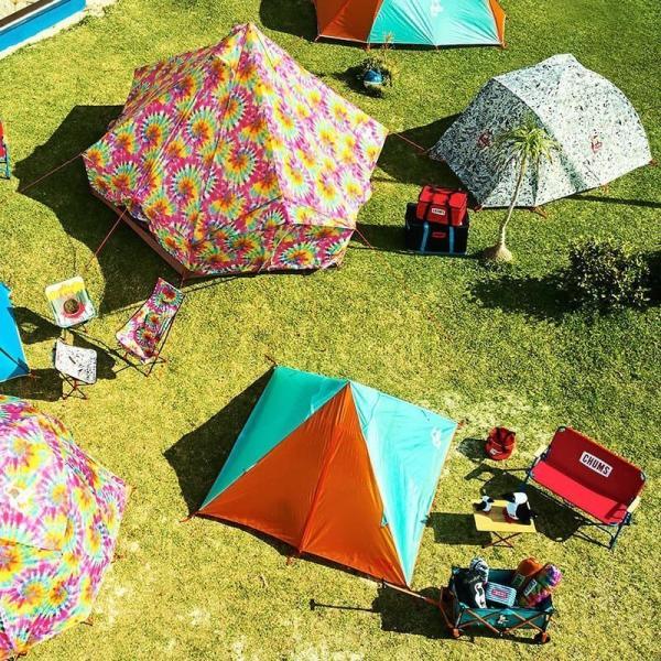 テント CHUMS Beetle 2 Room Tent チャムス ビートル ツールーム テント 3人用|2m50cm|03