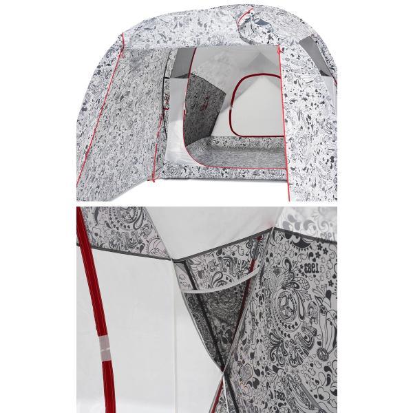 テント CHUMS Beetle 2 Room Tent チャムス ビートル ツールーム テント 3人用|2m50cm|06