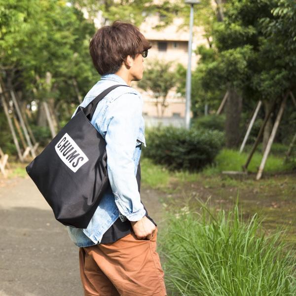 CHUMS チャムス トートバッグ チャムスロゴ トート Eco Logo Tote Bag|2m50cm|02