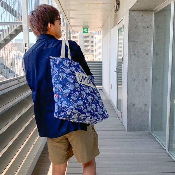 CHUMS チャムス トートバッグ チャムスロゴ トート Eco Logo Tote Bag|2m50cm|04