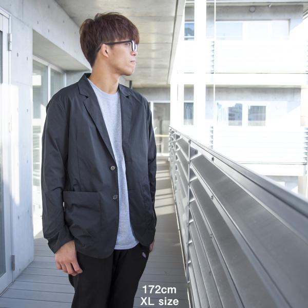 ジャケット CHUMS チャムス Nylon Tailored Jacket ナイロン テーラードジャケット 2m50cm 02