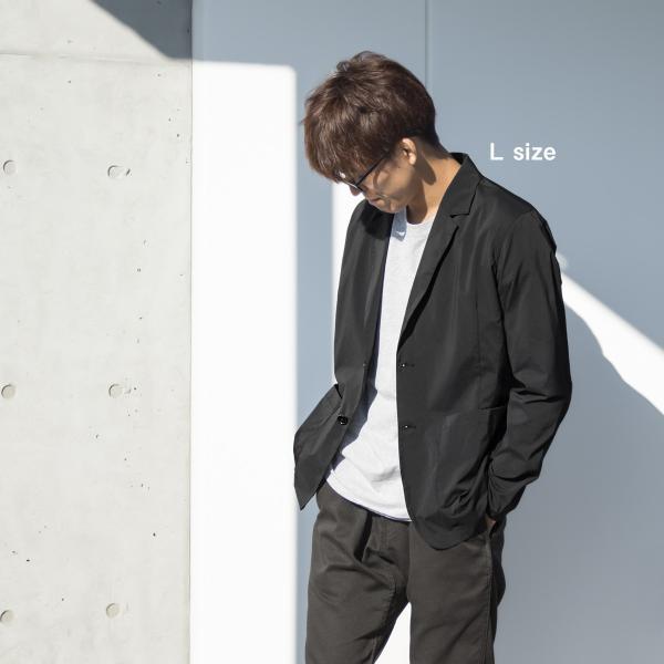 ジャケット CHUMS チャムス Nylon Tailored Jacket ナイロン テーラードジャケット 2m50cm 03