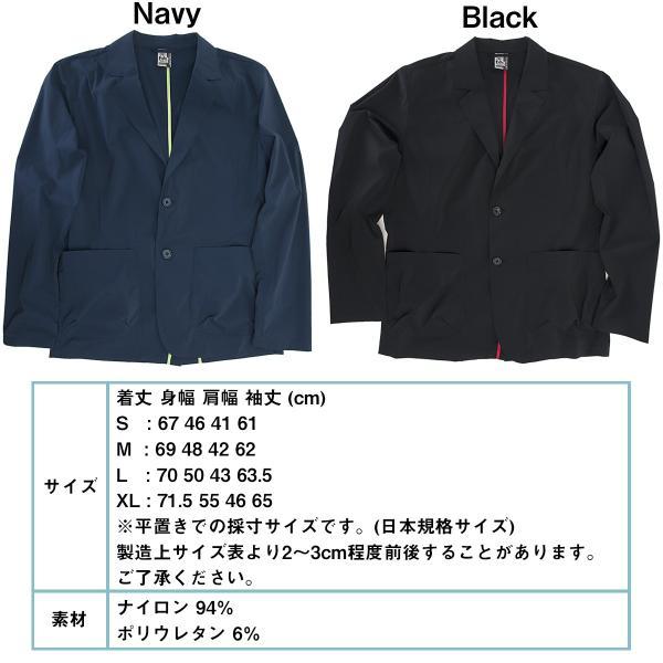 ジャケット CHUMS チャムス Nylon Tailored Jacket ナイロン テーラードジャケット 2m50cm 09