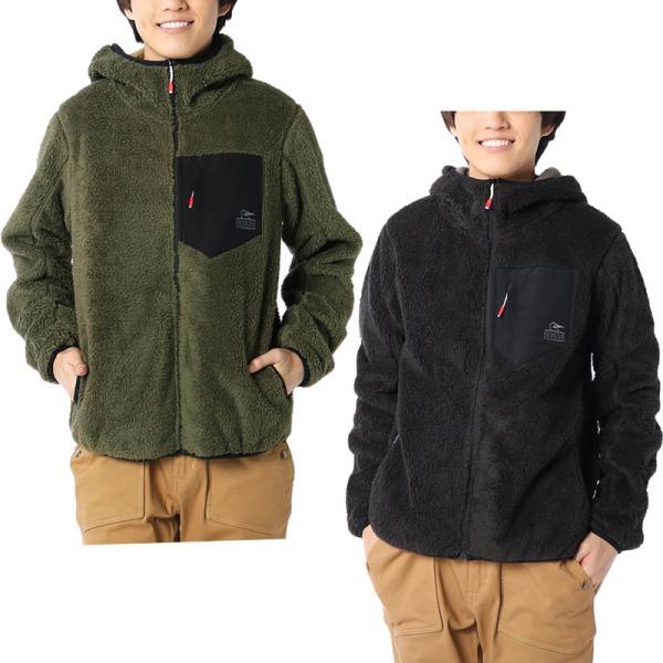 CHUMS チャムス フリースジャケット Bonding Fleece Zip Parka ボンディング フリース ジップ パーカー|2m50cm|02