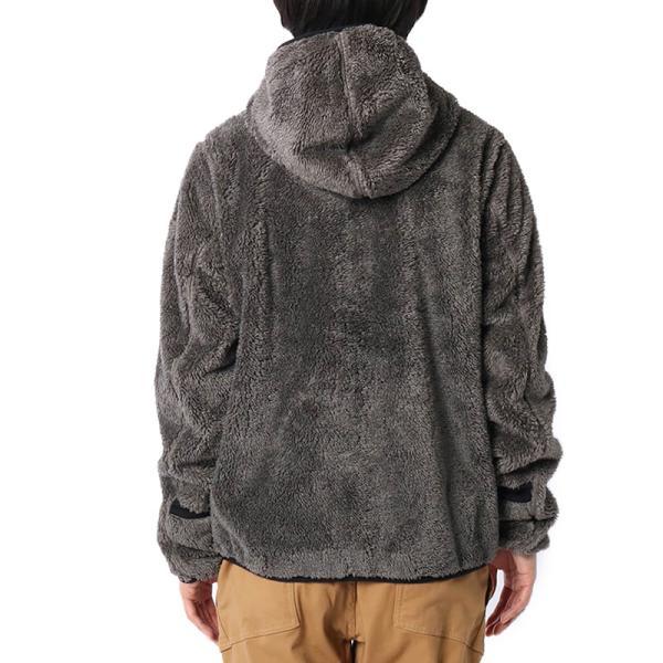 CHUMS チャムス フリースジャケット Bonding Fleece Zip Parka ボンディング フリース ジップ パーカー|2m50cm|04