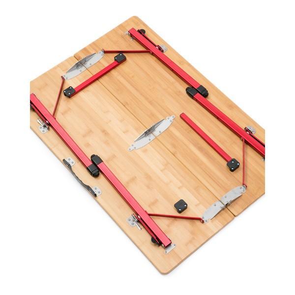 テーブル CHUMS チャムスBamboo Table 100 バンブーテーブル|2m50cm|04