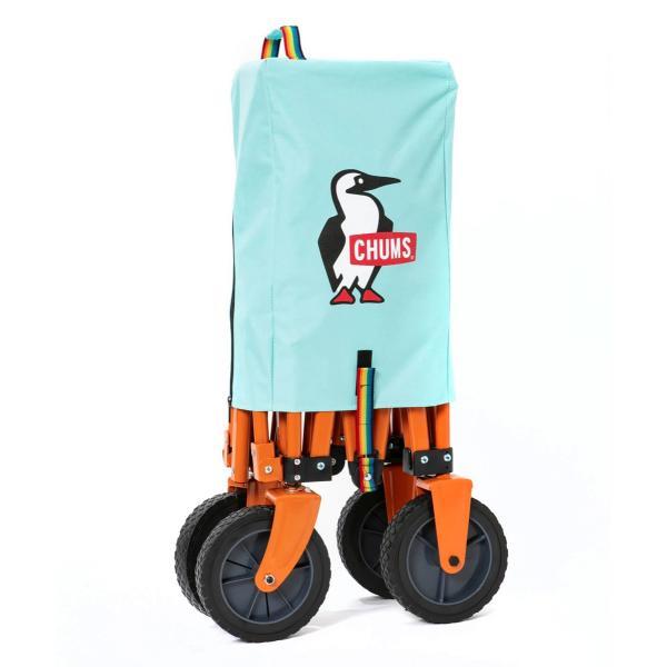 ワゴン CHUMS チャムス Happy Camping Folding Wagon|2m50cm|10