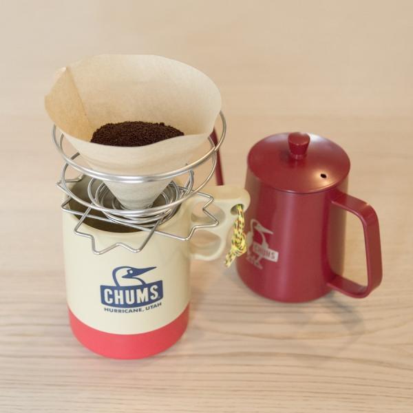 コーヒーポット CHUMS チャムス Booby Hand Drip Coffee|2m50cm|03