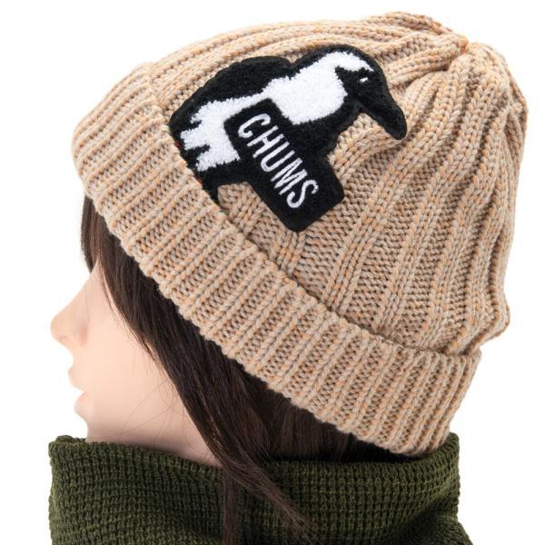 ニット帽 CHUMS チャムス Booby Knit Watch ブービー ニット ワッチ|2m50cm|12
