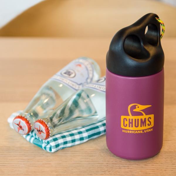 CHUMS チャムス 保温 タンブラー Camper Stainless Bottle キャンパー ステンレス ボトル 320ml|2m50cm|02
