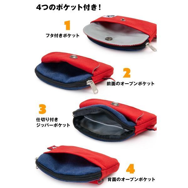 CHUMS チャムス 財布 Pocket Size Wallet Sweat Nylon ポケットサイズ ウォレット スウェットナイロン|2m50cm|12