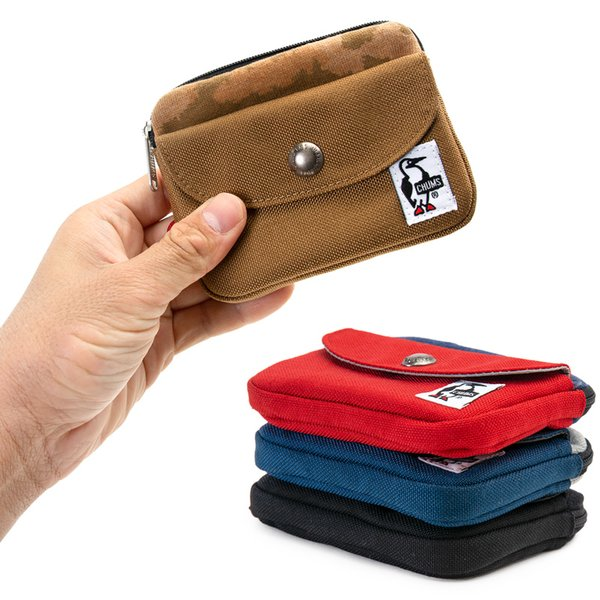 CHUMS チャムス 財布 Pocket Size Wallet Sweat Nylon ポケットサイズ ウォレット スウェットナイロン|2m50cm|03