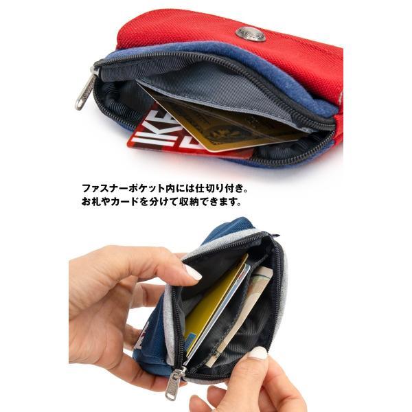 CHUMS チャムス 財布 Pocket Size Wallet Sweat Nylon ポケットサイズ ウォレット スウェットナイロン|2m50cm|07