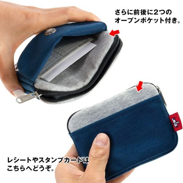 CHUMS チャムス 財布 Pocket Size Wallet Sweat Nylon ポケットサイズ ウォレット スウェットナイロン|2m50cm|08