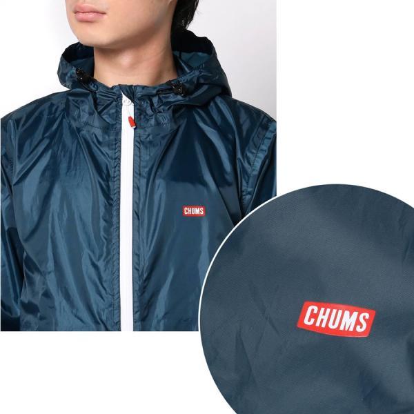 CHUMS チャムス ブービーロゴ レインスーツ Booby Logo Rain Suit|2m50cm|05