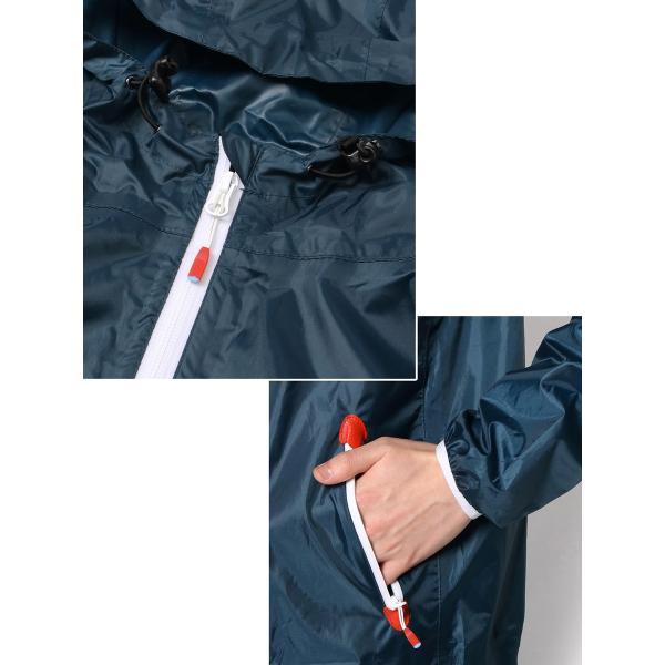 CHUMS チャムス ブービーロゴ レインスーツ Booby Logo Rain Suit|2m50cm|06