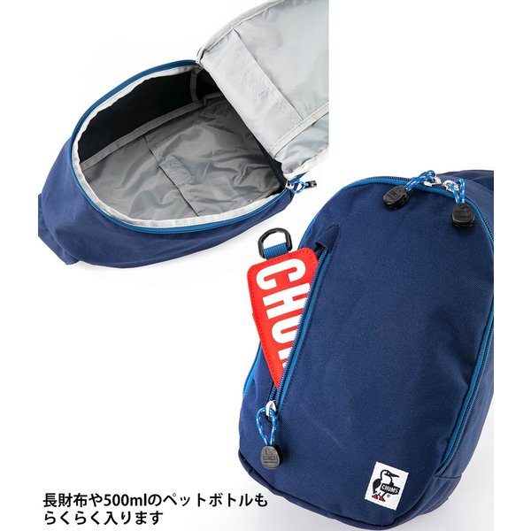 ショルダーバッグ CHUMS チャムス Eco One Shoulder Pack エコ ワンショルダー パック|2m50cm|07