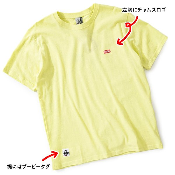 CHUMS チャムス Tシャツ Booby on the tree T-Shirt ブービー オンザツリー Tシャツ 半袖|2m50cm|05