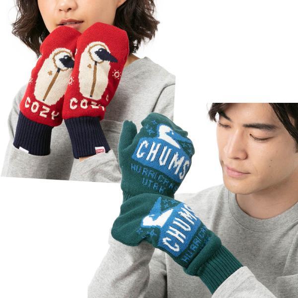CHUMS チャムス 手袋 Cyclone Knit Mitten サイクロン ニット ミトン|2m50cm|04