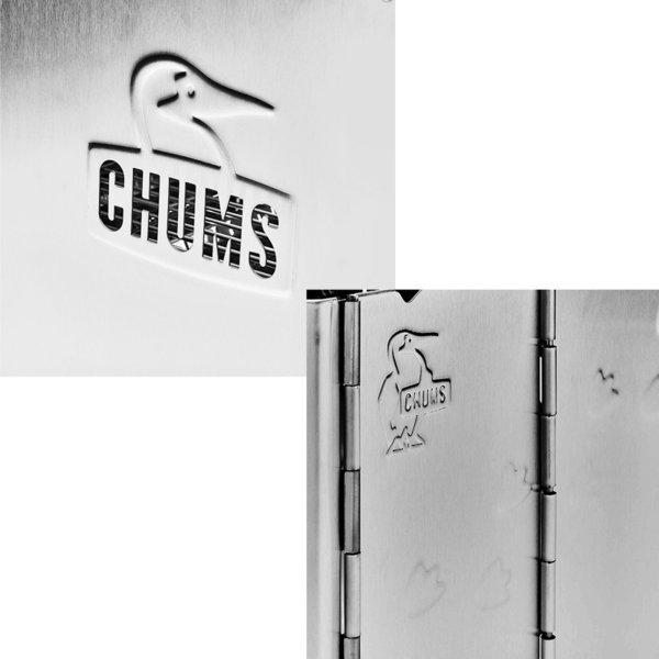 チャムス CHUMS Booby Face Folding Fire Pit ブービーフェイス フォールディング ファイヤーピット 焚き火台 焚火台|2m50cm|05