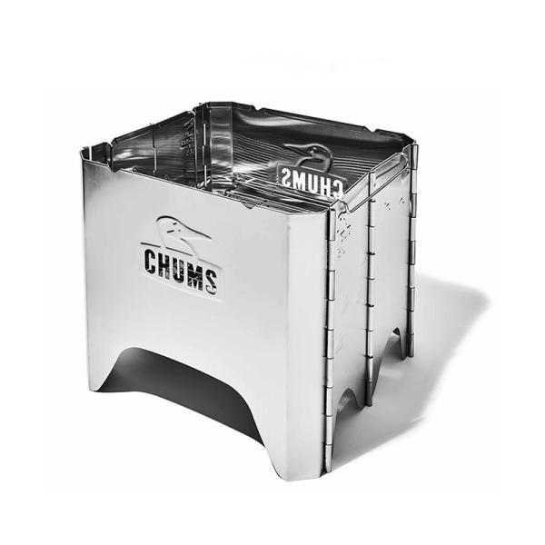 チャムス CHUMS Booby Face Folding Fire Pit ブービーフェイス フォールディング ファイヤーピット 焚き火台 焚火台|2m50cm|08
