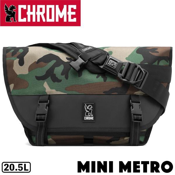 CHROME クローム MINI METRO CAMO メッセンジャーバッグ|2m50cm