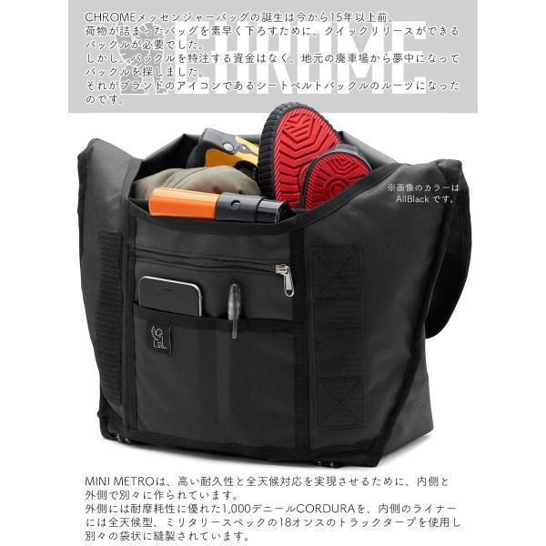 CHROME クローム MINI METRO CAMO メッセンジャーバッグ|2m50cm|05