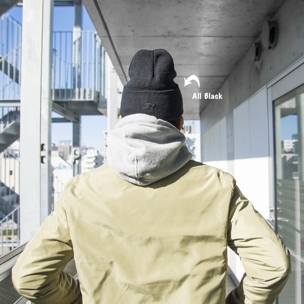CHROME クローム LOGO KNIT CAP ロゴ ニット キャップ|2m50cm|08