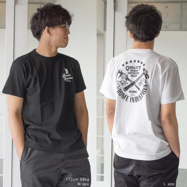 CHROME クローム 7 STARS QUALITY PDX ED.TEE Tシャツ 半袖Tシャツ|2m50cm|04