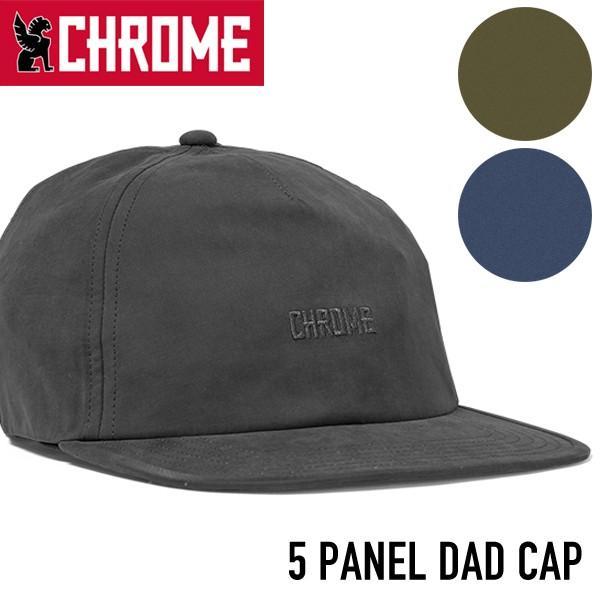 帽子 CHROME クローム  5 PANEL DAD CAP キャップ 帽子|2m50cm