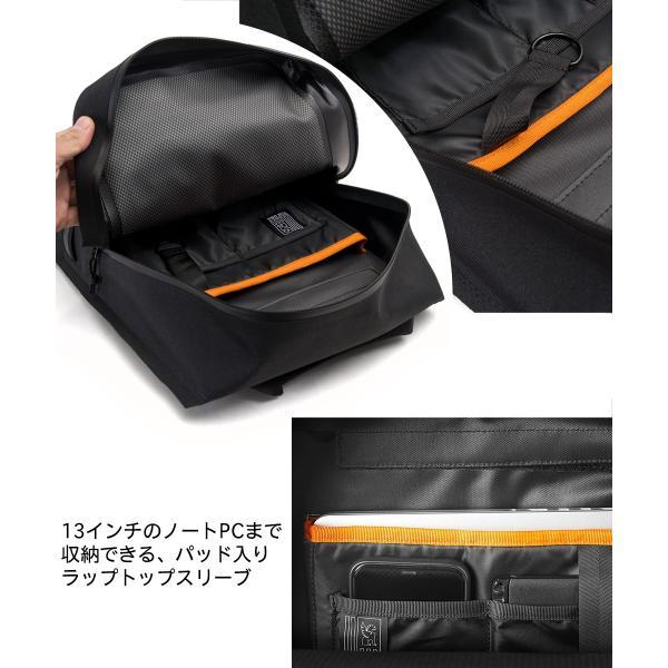 デイパック CHROME クローム URBAN EX TOMBSTONE PACK 18L アーバン EX トゥームストーン パック|2m50cm|06