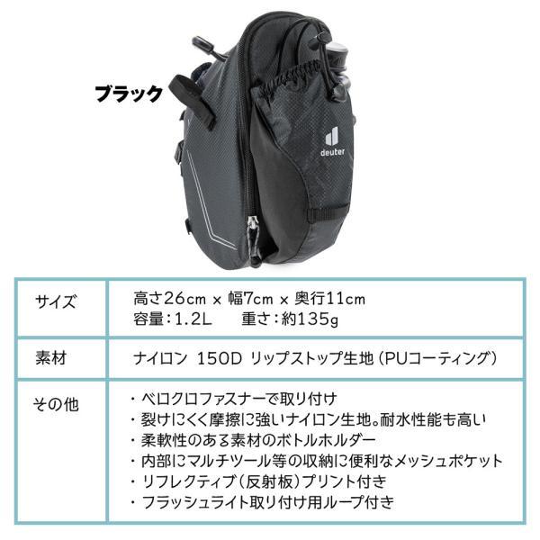 ドイター Deuter Bike Bag Bottle バイクバッグ ボトル ポーチ 2m50cm 10