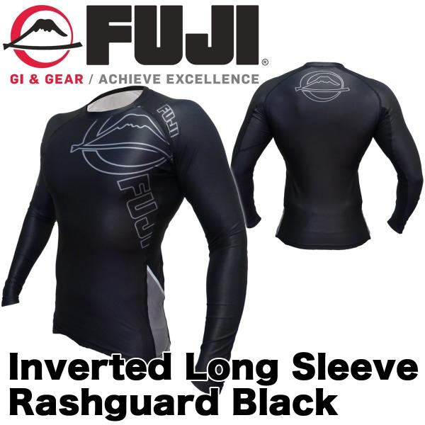 FUJI ラッシュガード 長袖 FUJI Inverted Long Sleeve Rashguard Black|2m50cm