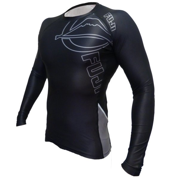 FUJI ラッシュガード 長袖 FUJI Inverted Long Sleeve Rashguard Black|2m50cm|06