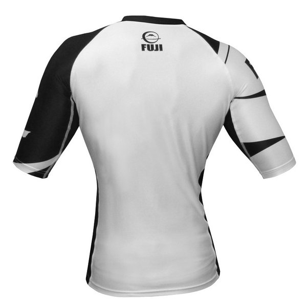 FUJI ラッシュガード Sports Freestyle IBJJF Ranked Rashguard White Short Sleeve|2m50cm|06