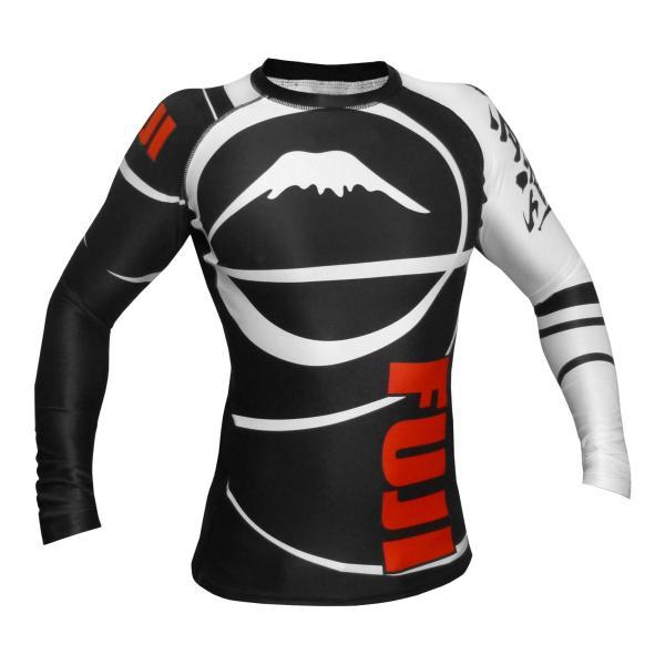FUJI ラッシュガード FUJI Sports Freestyle IBJJF Ranked Rashguard Black Long Sleeve|2m50cm|06