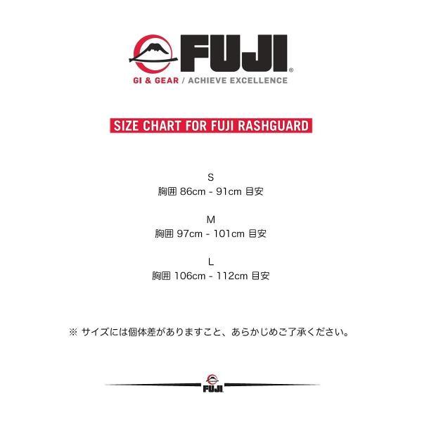 FUJI ラッシュガード FUJI Sports Freestyle IBJJF Ranked Rashguard Black Long Sleeve|2m50cm|07