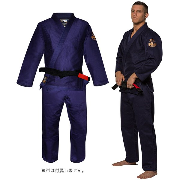 FUJI 柔術着 All Around BJJ Gi Navy フジ ネイビー|2m50cm|07