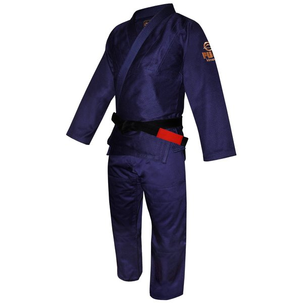 FUJI 柔術着 All Around BJJ Gi Navy フジ ネイビー|2m50cm|08