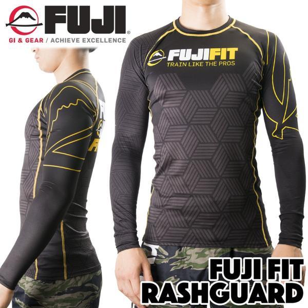 FUJI ラッシュガード 長袖 FUJI Fit Rashguard Black|2m50cm