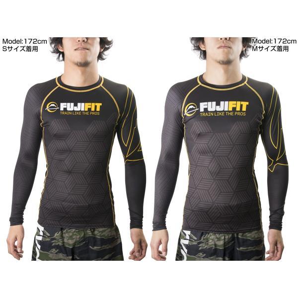 FUJI ラッシュガード 長袖 FUJI Fit Rashguard Black|2m50cm|05